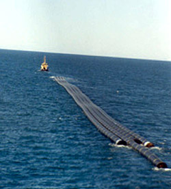 Surface Tow Pipeline Installation