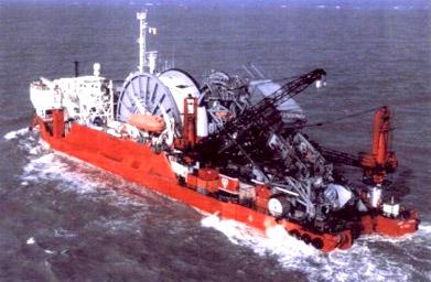 Vertical Reel Barge
