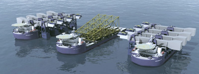 SeaMetric's Heavy Lift Vessels
