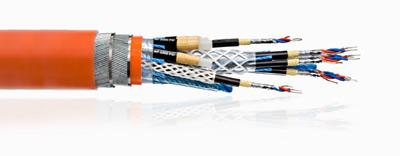 Umbilical Containing Fiber Communications Cables