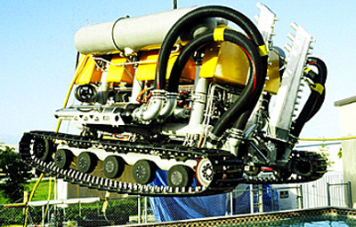Bottom-Founded Perry Trenching ROV