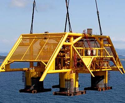 Tordis subsea production facility