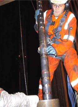 Introducing a Wireline into the Well