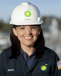 Aleida Rios, VP of Operations in the Gulf of Mexico, BP